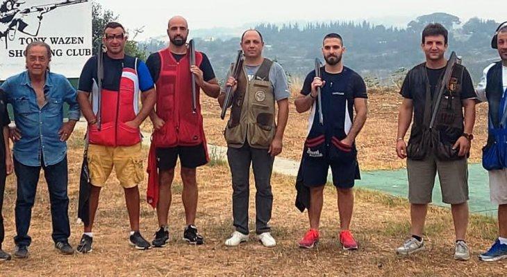 ألان  موسى بطل المرحلة الثالثة من بطولة لبنان للرماية على التراب