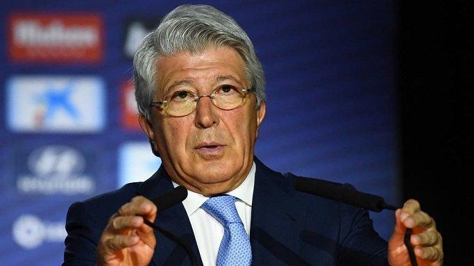 رئيس أتلتيكو مدريد: عودة غريزمان ليست سهلة