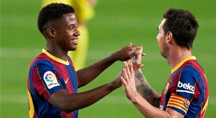 تقارير: برشلونة كان سيضحي بجوهرته للابقاء على ميسي