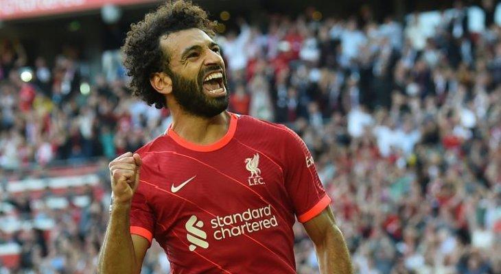 ليفربول يشيد بصلاح ويصفه بالملك