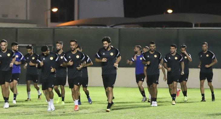 التدريبات الاولى في المنامة