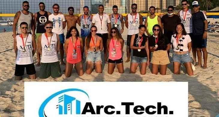 دورة اماراتية في الكرة الطائرة الشاطئية : لبنان بطل الرجال ووصيف السيدات