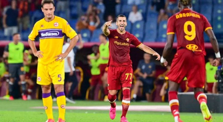 احصائيات عن روما بعد الفوز على فيورنتينا