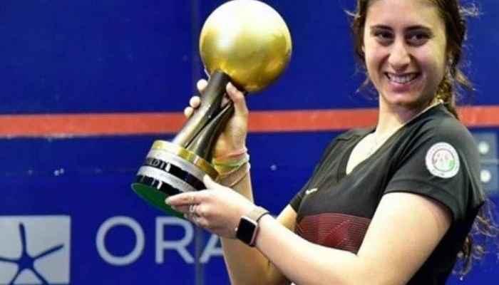المصريّة نور الشربيني بطلة دورة علامالدوليةللإسكواش