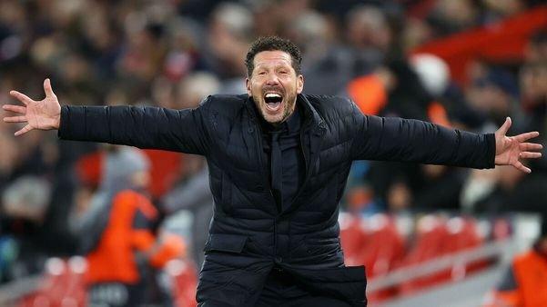 سيميوني: اتلتيكو مدريد مختلف عن الموسم الماضي