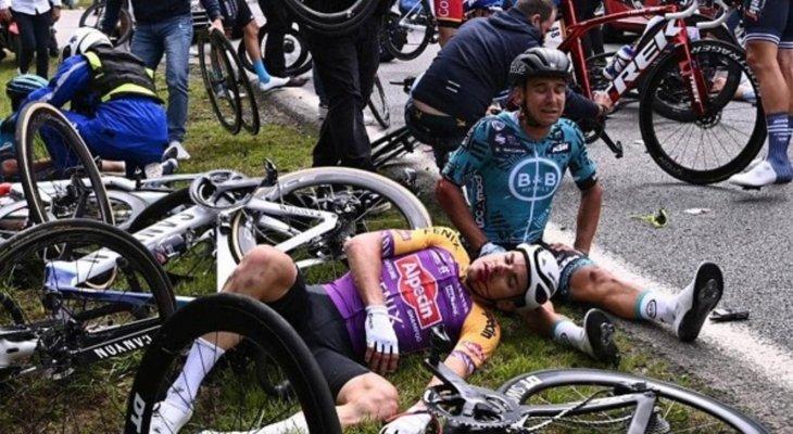 سباق فرنسا: المشجعة المسؤولة عن الحادث الخطير ستمثل أمام القضاء