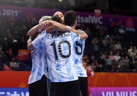 مونديال الصالات: الارجنتين الى الدور المقبل وفوز الباراغواي