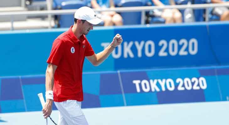 أولمبياد طوكيو - كرة مضرب: ميدفيديف إلى ربع النهائي بتخطيه  فونيني