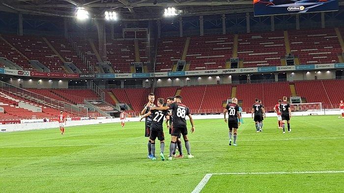 بنفيكا يغلب سبارتاك موسكو في تصفيات دوري الأبطال