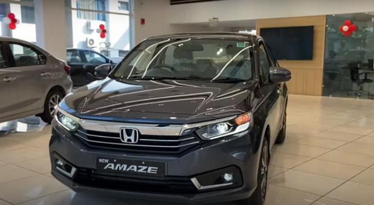 هوندا تكشف عن سيارة Amaze