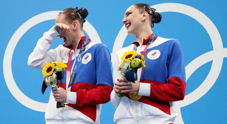 طوكيو 2020: روماشينا وكوليسنيتشينكو تنالان ذهبية السباحة الفنية