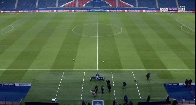 توقف مباراة باريس سان جيرمان وباشاك شهير بسبب العنصرية