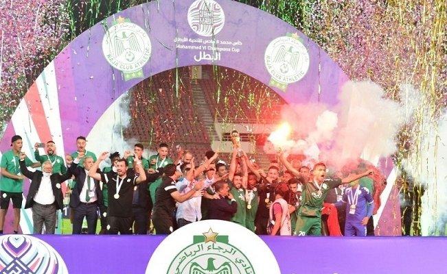 الرجاء يهزم الاتحاد ويتوج بلقب كأس محمد السادس للأندية الأبطال
